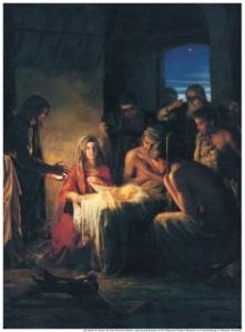 Christmas.The Birth of Jesus