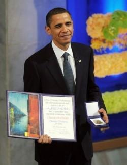 Obama and Nobel