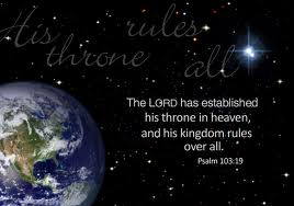 sovereignty of God from heaven's throne