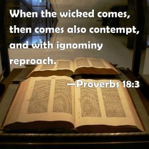 Proverbs 18.3
