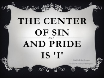 sin and pride