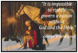 Washington praing