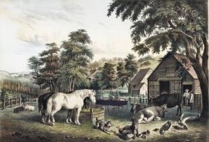 19th century farm