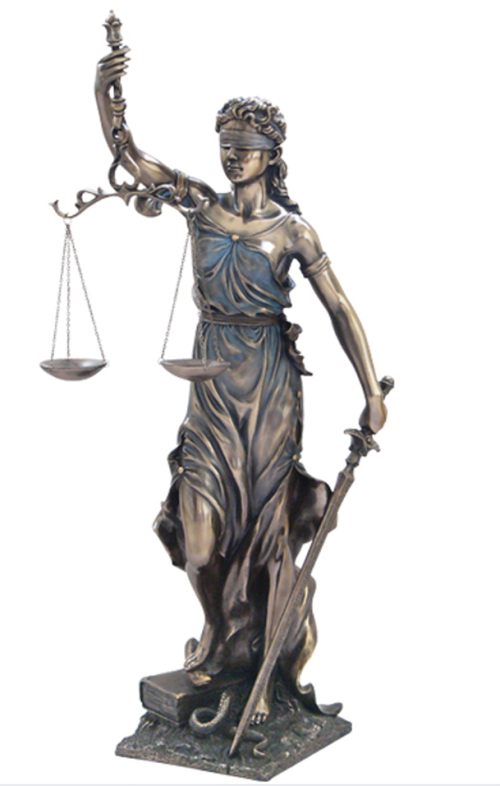 """Proverbs 28:5, 7 – """"Lady Justice"""" is no longer blind ..."""