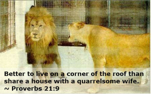 the growl of a lionness
