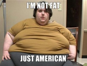 fat American