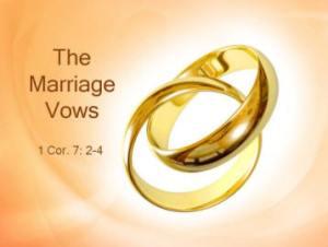 MarriageVows