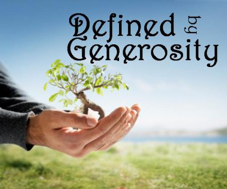 defined-by-generosity