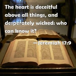 Jeremiah 17.9