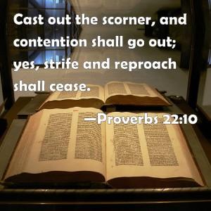 Proverbs 22-10