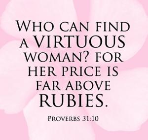 Proverbs 31.10