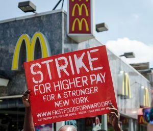strike for $15 hour