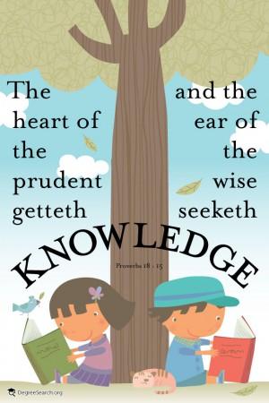 seeketh knowledge