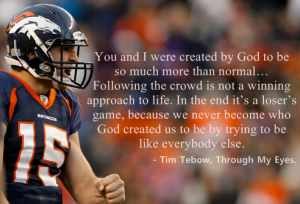 Tim Tebow quote