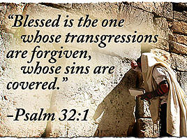 Blessed and forgiven