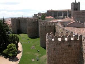 vista murallas Ávila