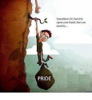 let go of pride