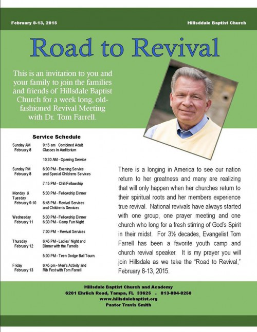 Revival with Farrell