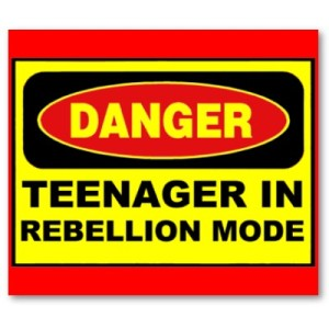 teen rebellion
