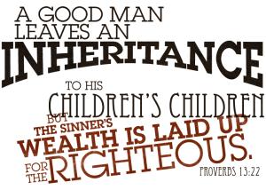 Proverbs13.22