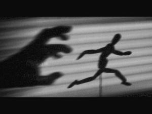 fleeing