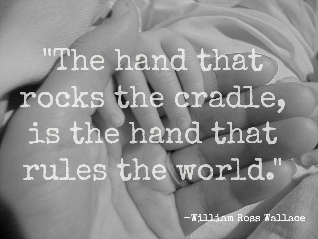 rock the cradle essay This site might help you re: plz tell me the meaning of the proverb - the hand that rocks the cradle rules the worldsend fastexams.