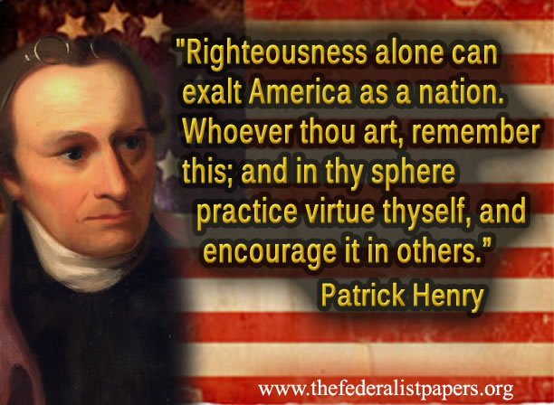 righteousness exalteth a nation