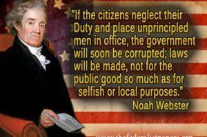 unprincipled politicians