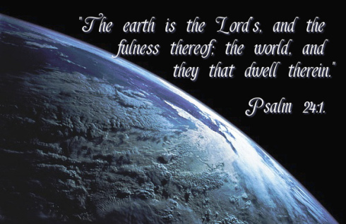 earth is the Lord's