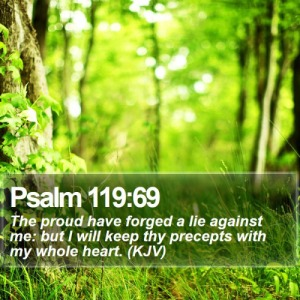 Psalm 119.69