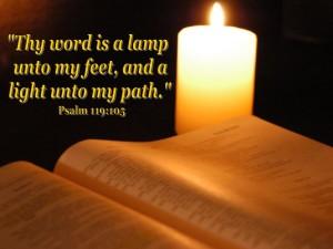 Psalm 119 light