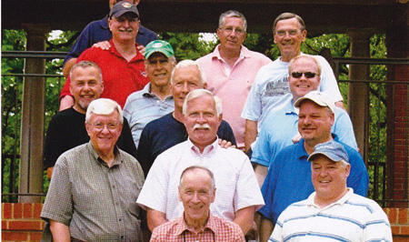 Happy older men