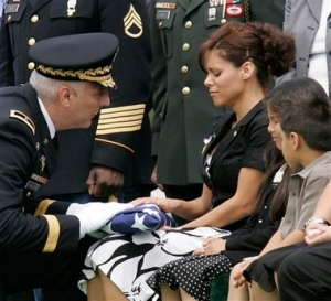 soldier's widow