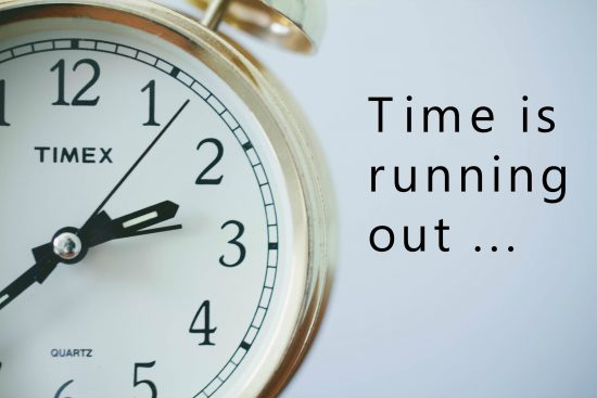 time-running-out